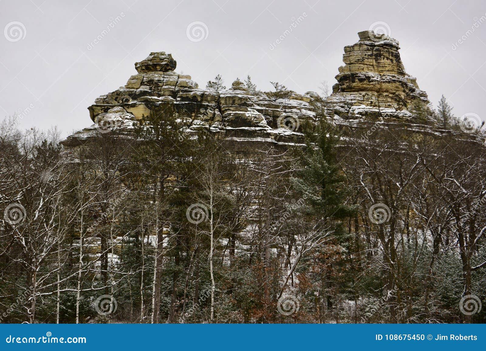 寒武纪砂岩岩层