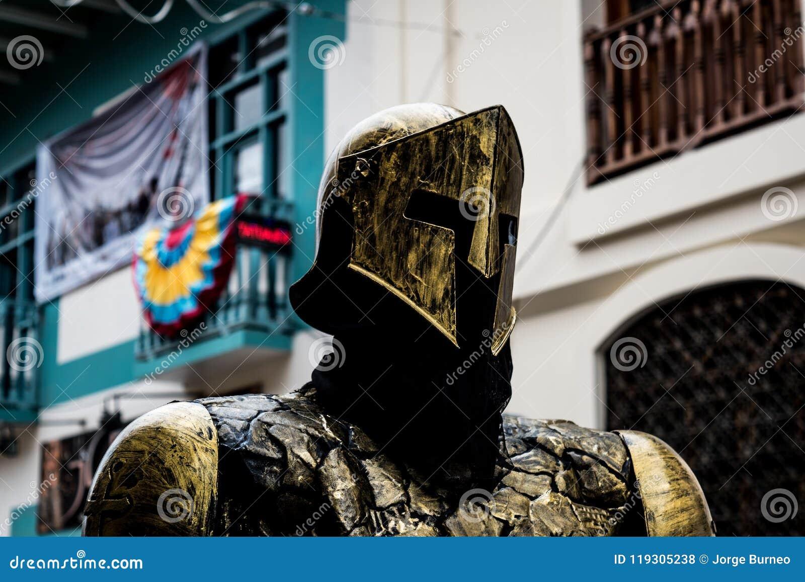 对一个金黄骑士的尊敬