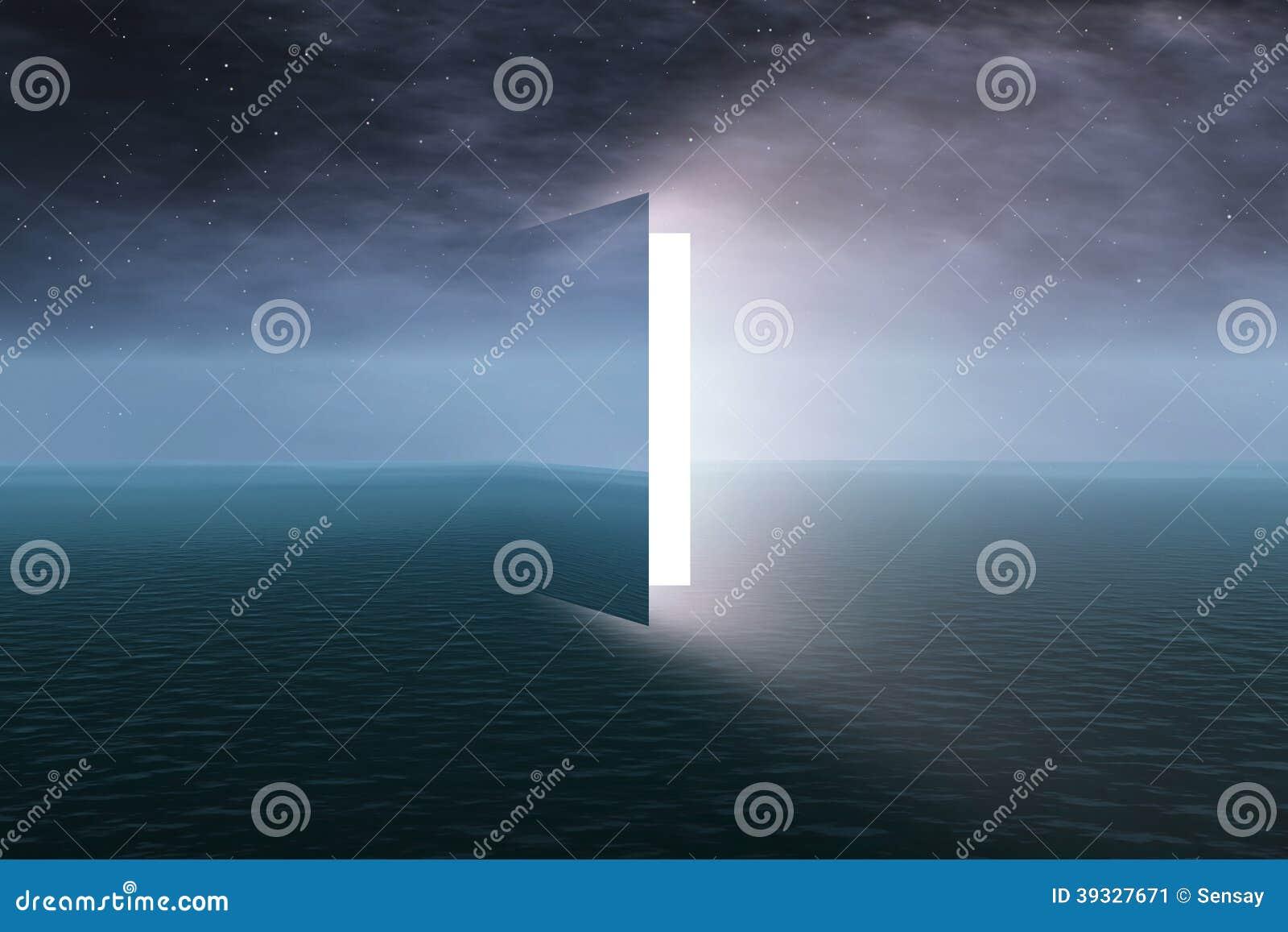 对天堂的门