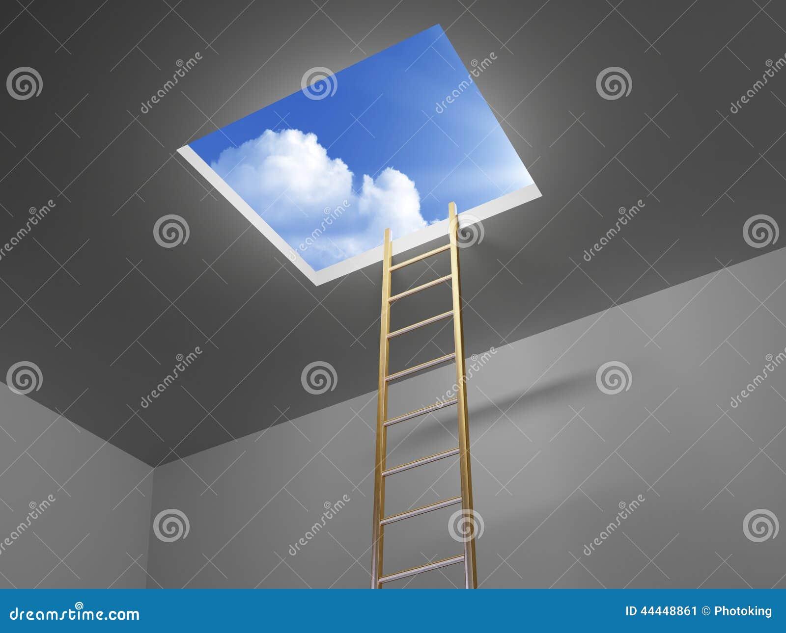对天空的梯子