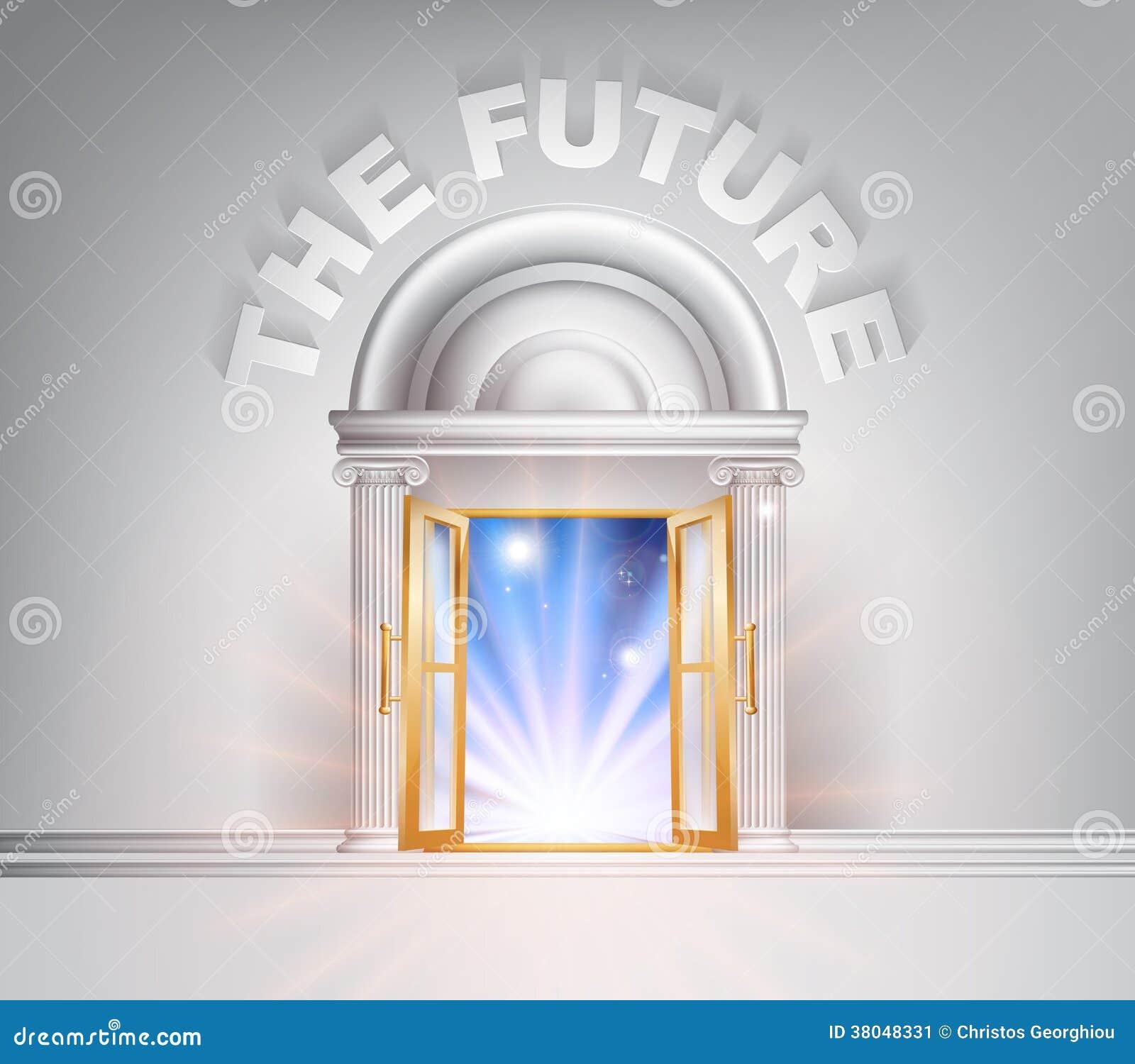对未来的门