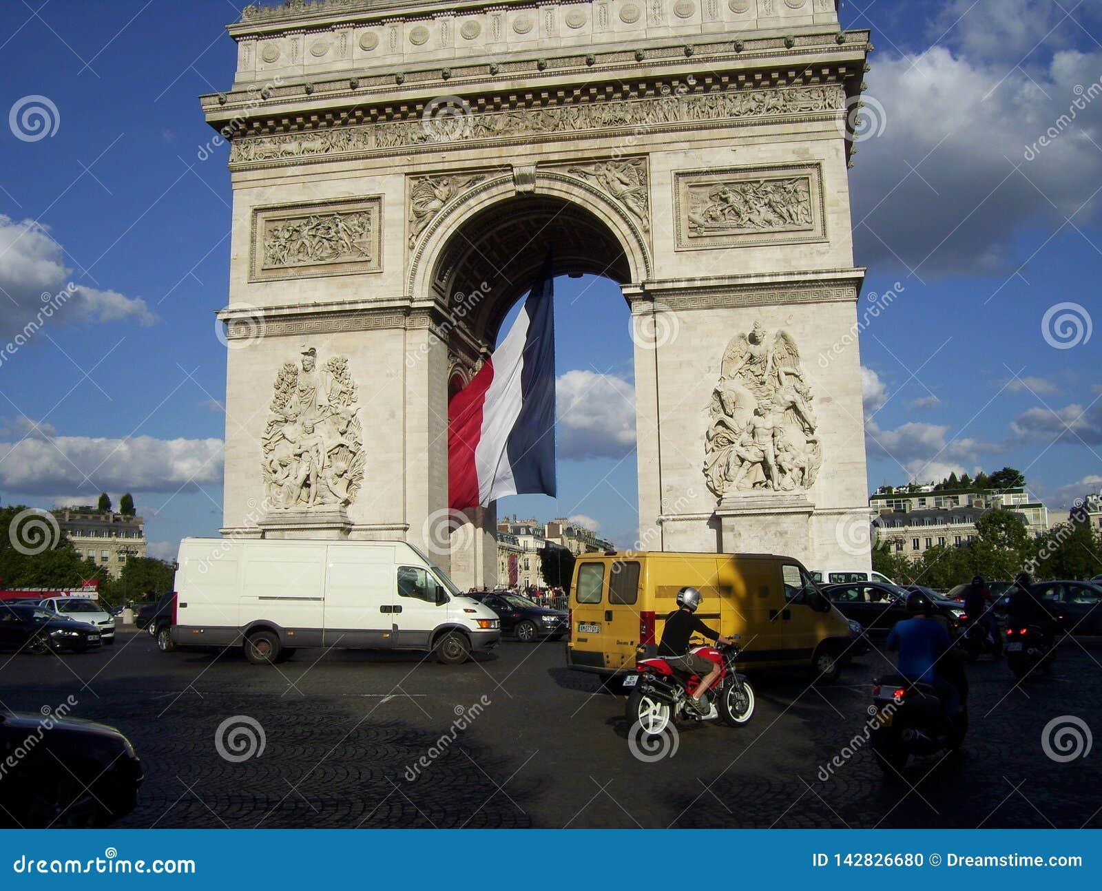 对法国大革命的荣耀的纪念碑