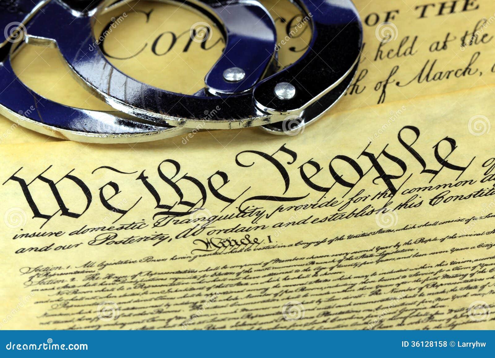 对美国宪法的第四个校正