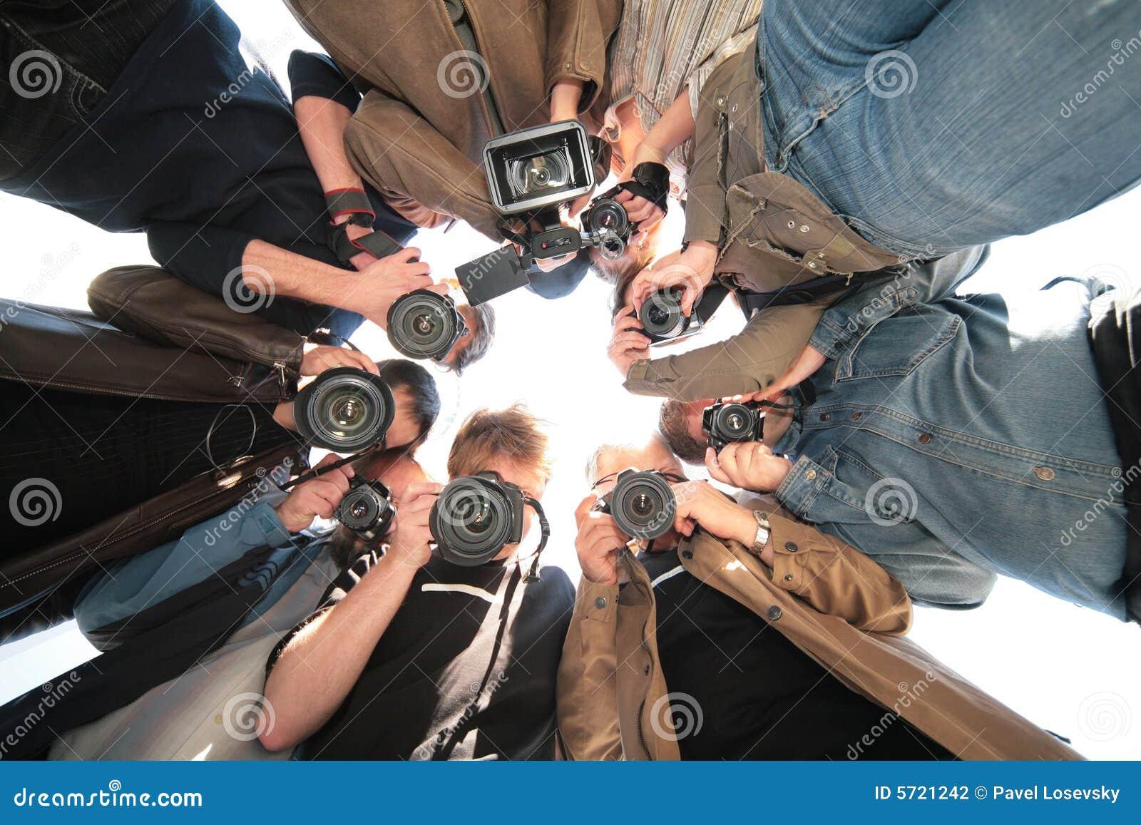 对象无固定职业的摄影师