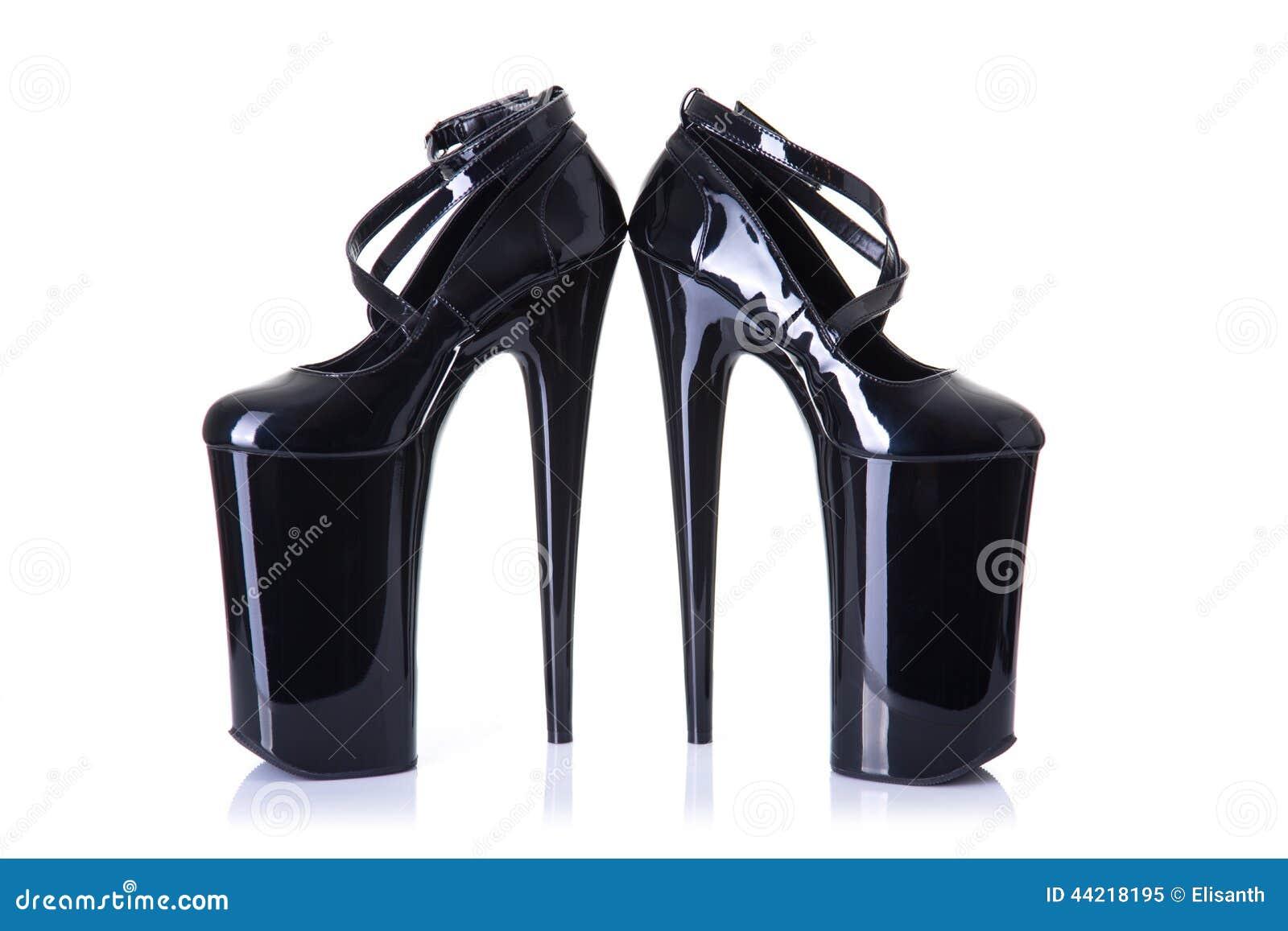 对超高跟鞋迷信鞋子
