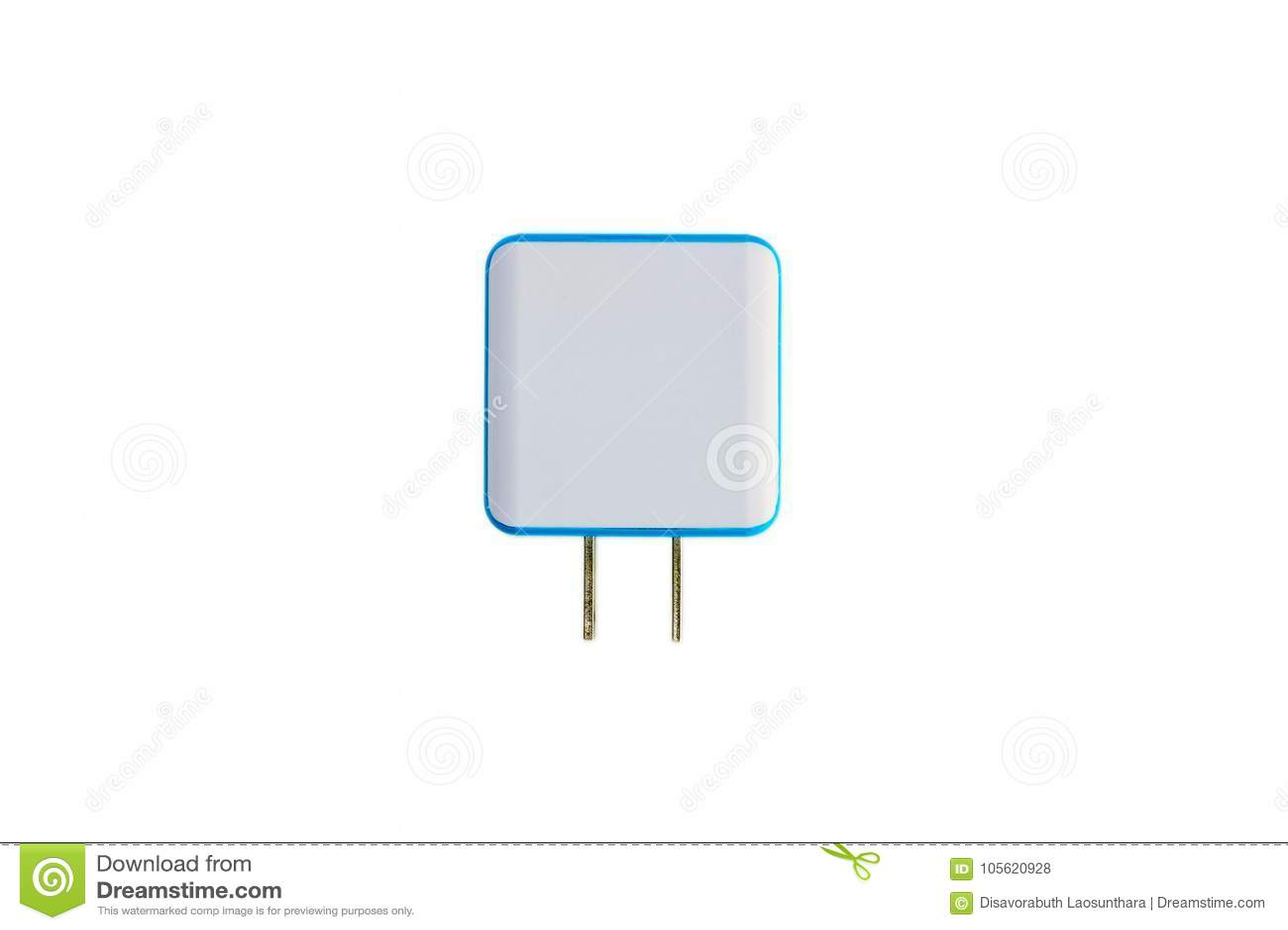 对USB充电器口岸的双重电子适配器