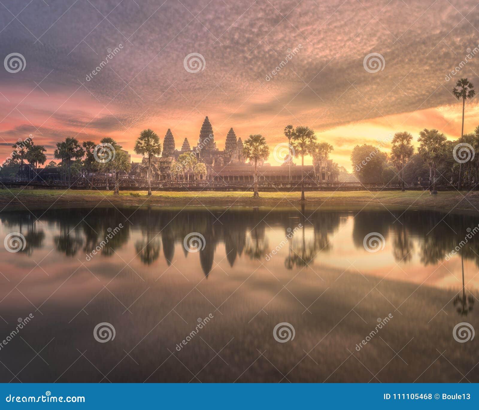 寺庙复杂吴哥窟暹粒,柬埔寨