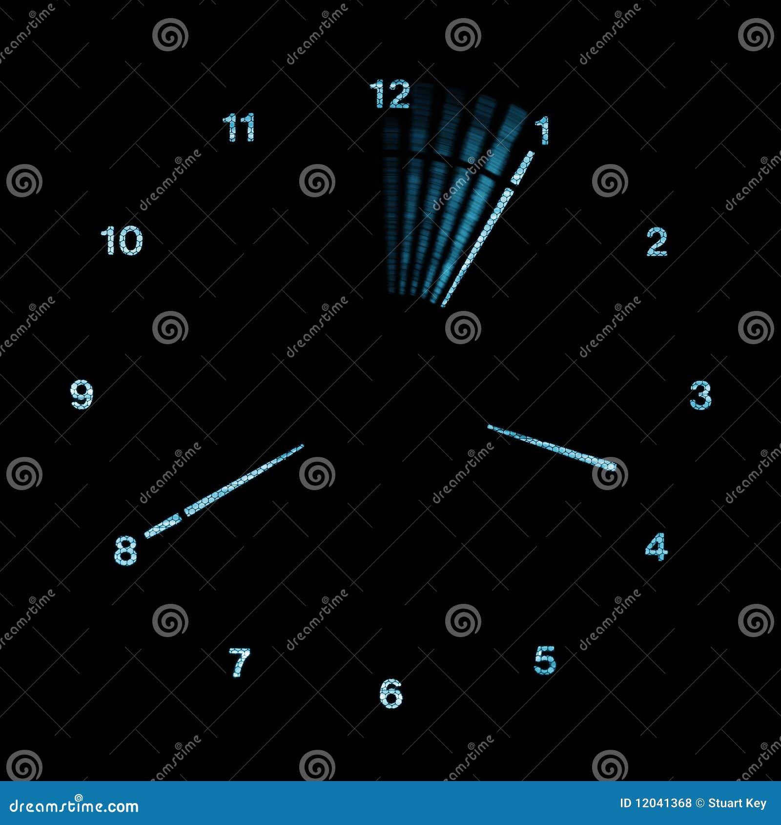 导致的模式时钟数字式