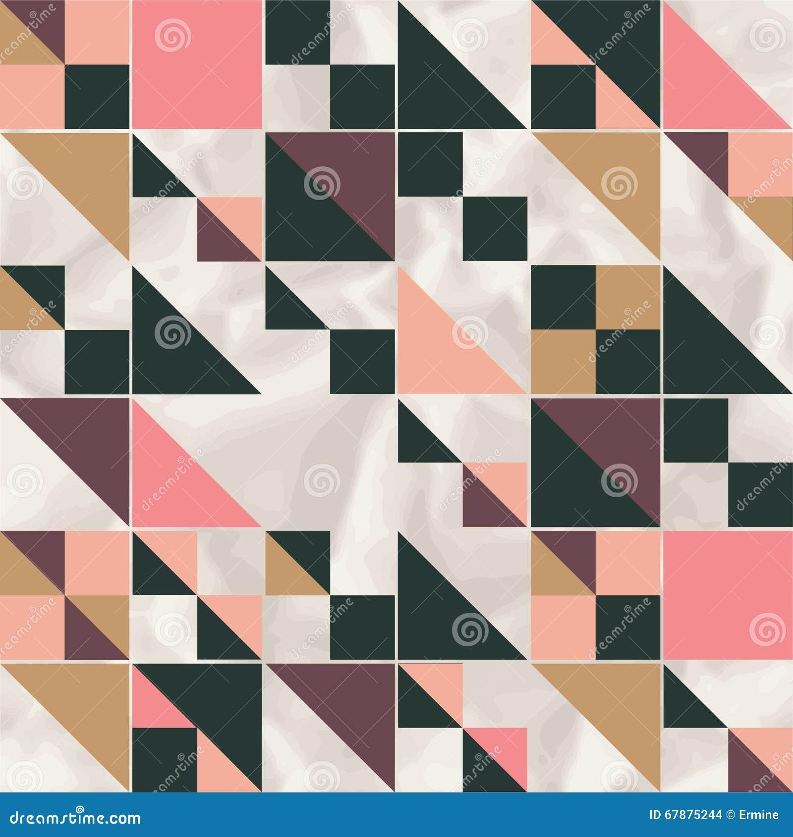 导航与几何形状的几何样式,菱形
