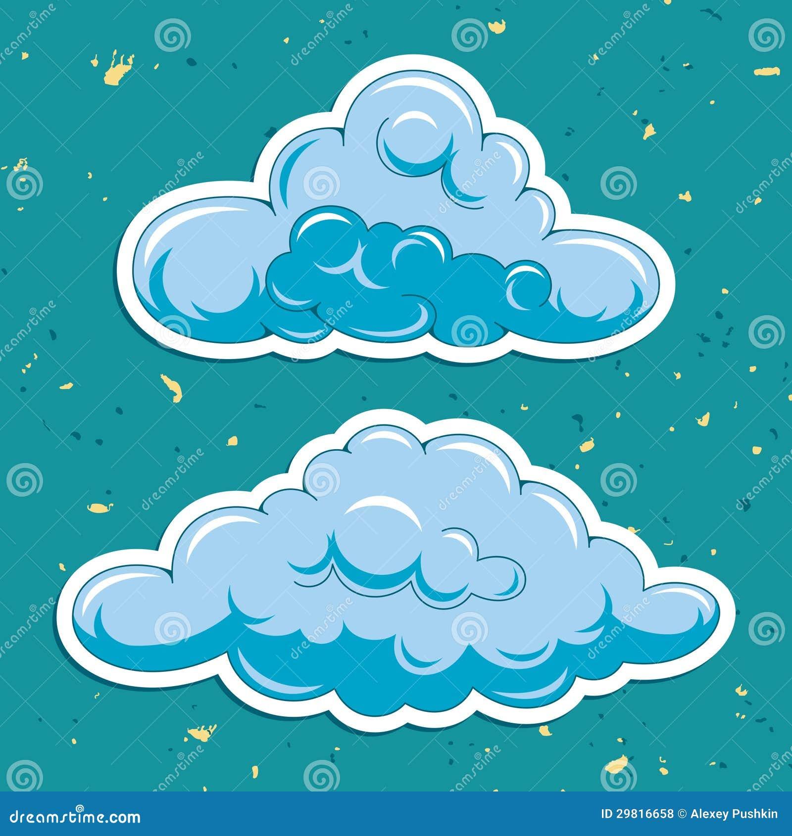 传染媒介云彩
