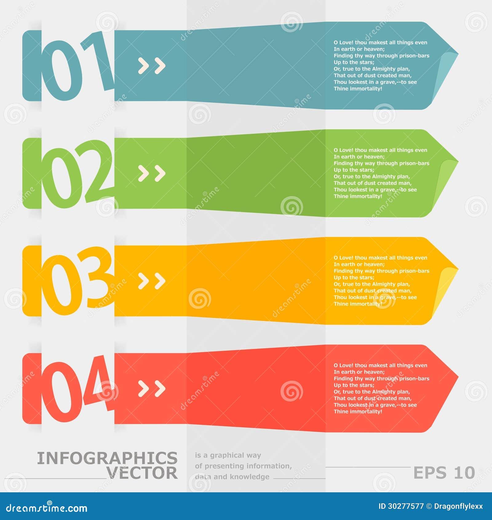现代速度infographics选择横幅。
