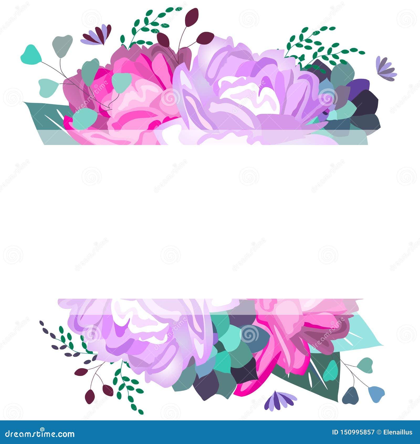 导航夏天,春天框架,与中介子,花,多汁植物,叶子,叶子的模板 时髦,浪漫,典雅,软的设计 ??