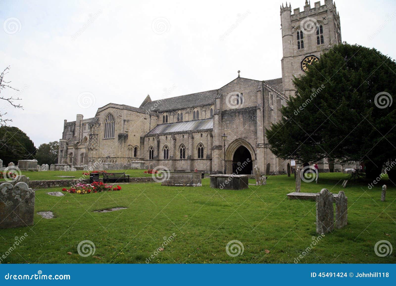 小修道院教会,克赖斯特切奇,多西特