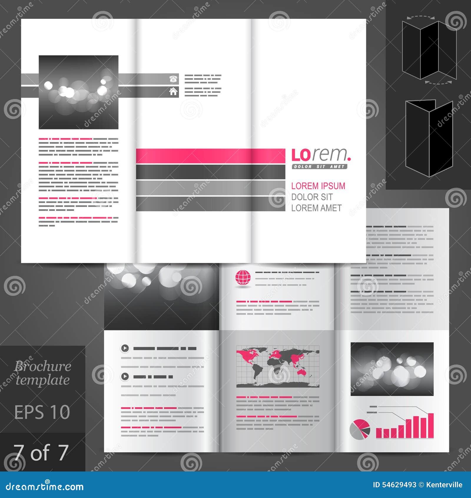 小册子模板设计图片
