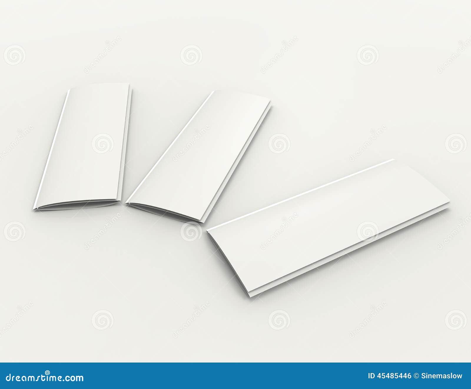 小册子3d概念