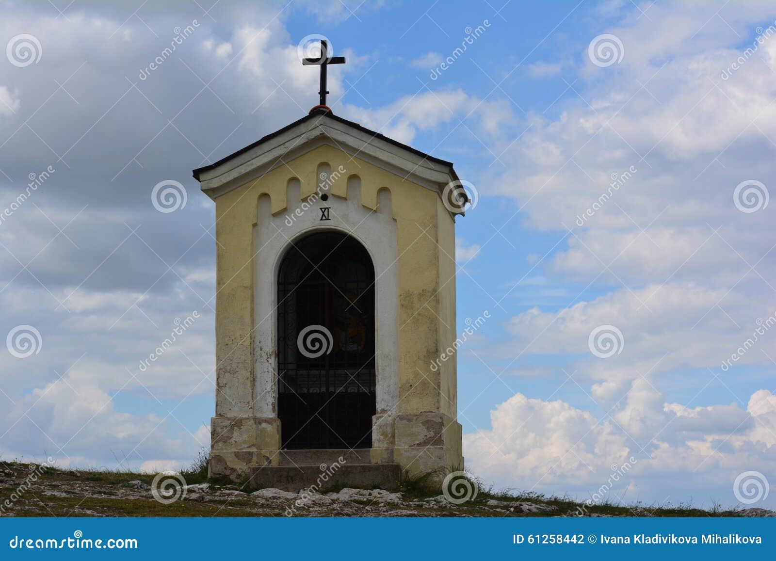 小山的教堂,受难象