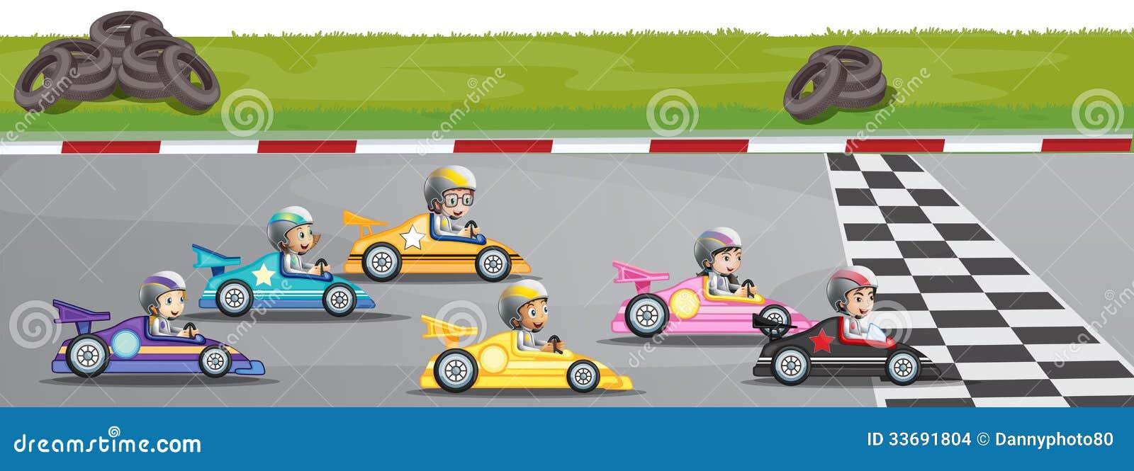 小汽车赛竞争