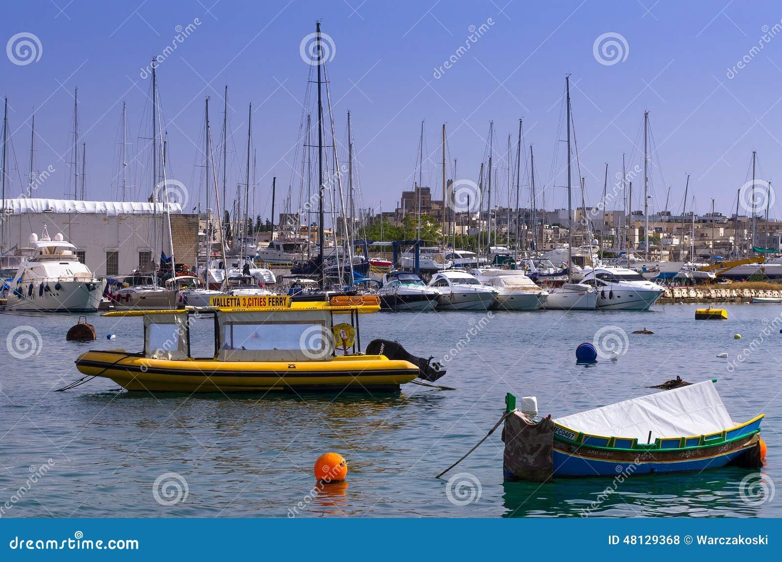 小游艇船坞,马努埃尔海岛,马耳他