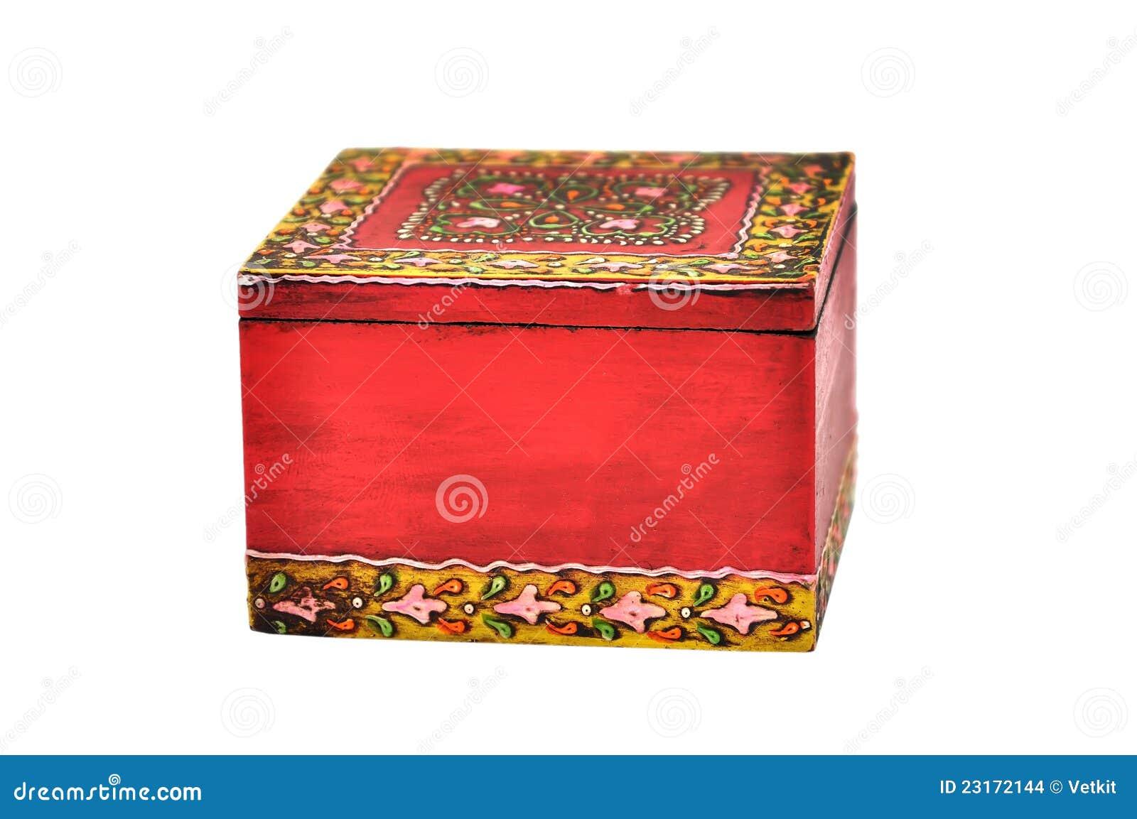 小箱五颜六色木