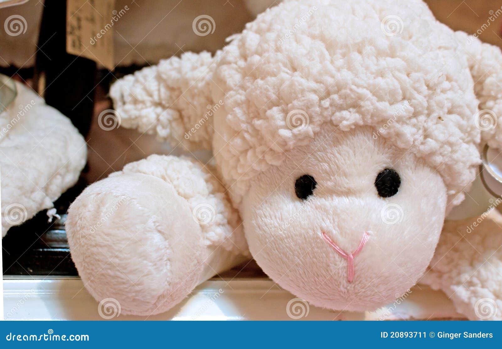 小羊羔s被充塞的玩具