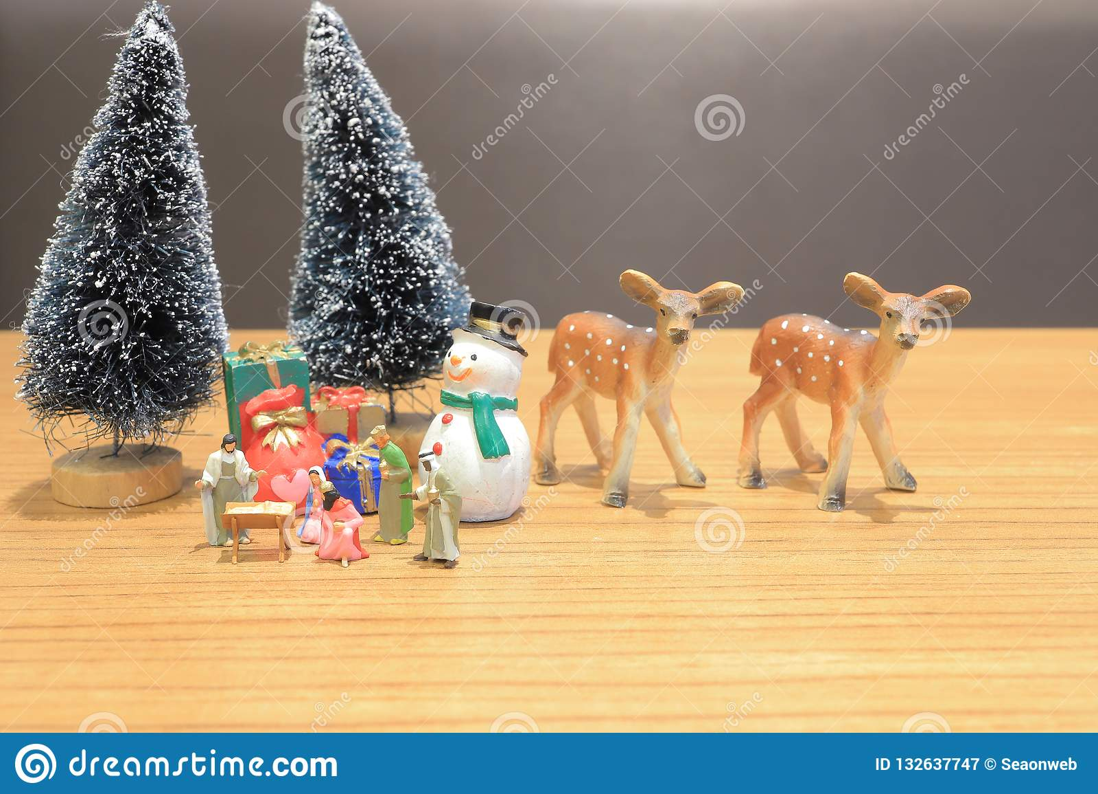 小耶稣形象基督徒诞生场面