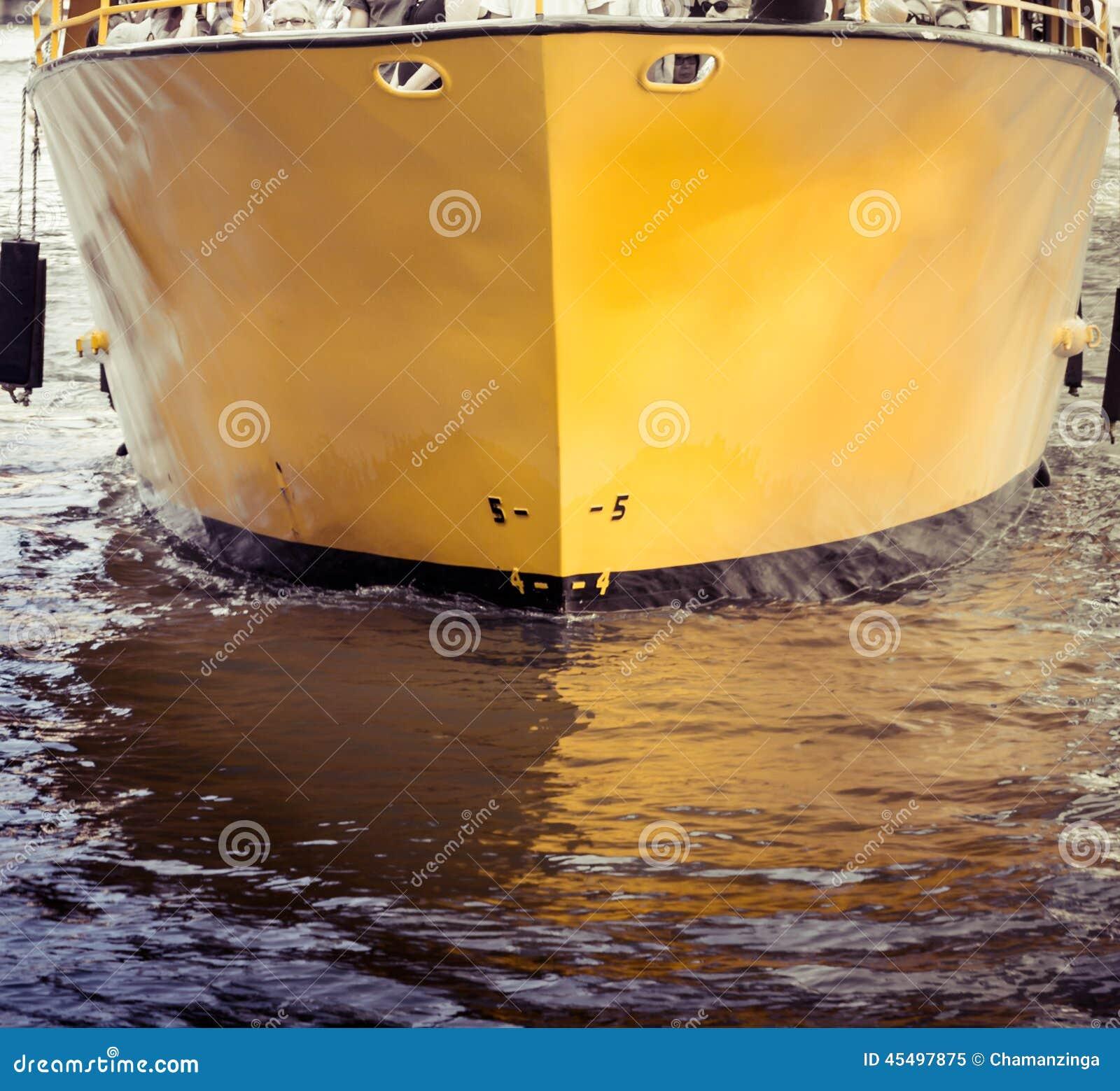 小船的船身
