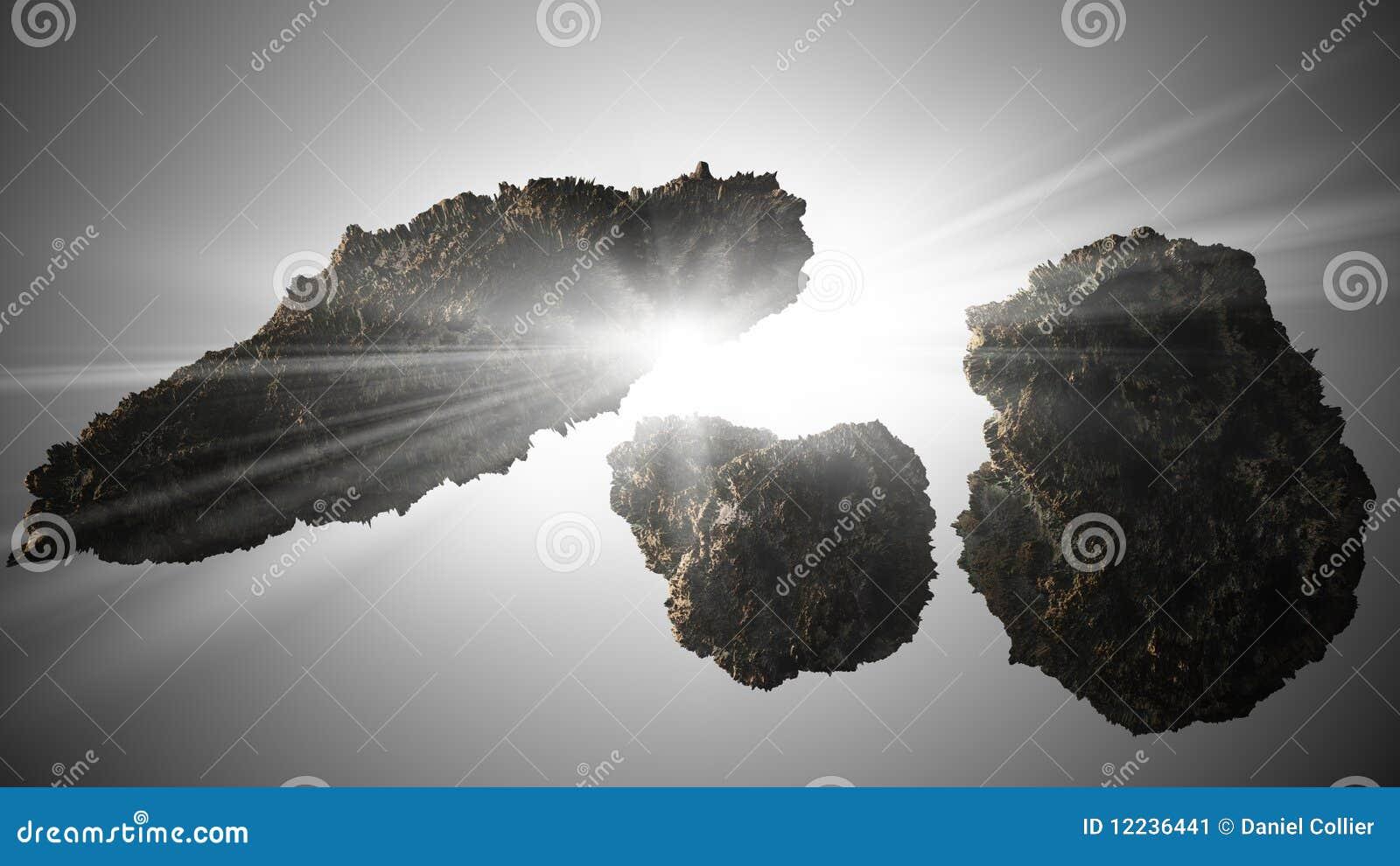 小行星背景星形