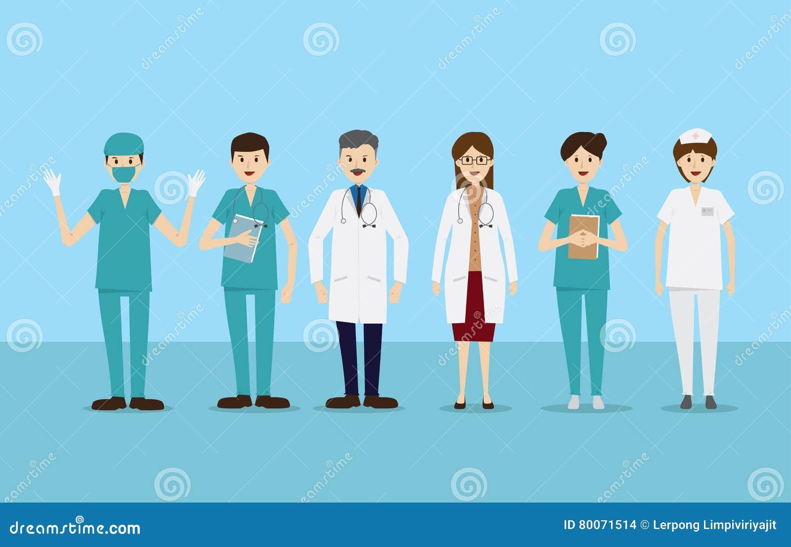 小组医治护士职员医疗队