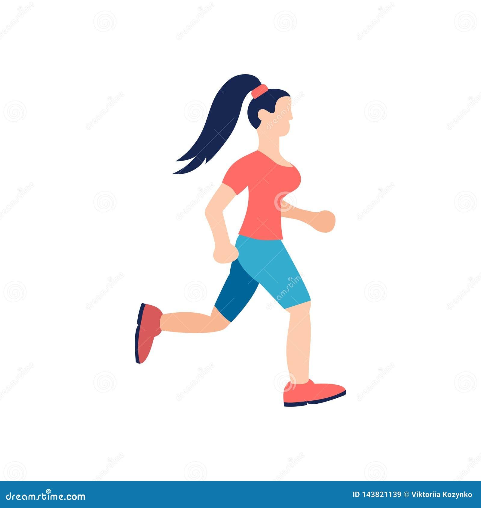 少女跑 Lifstyle fitnes字符