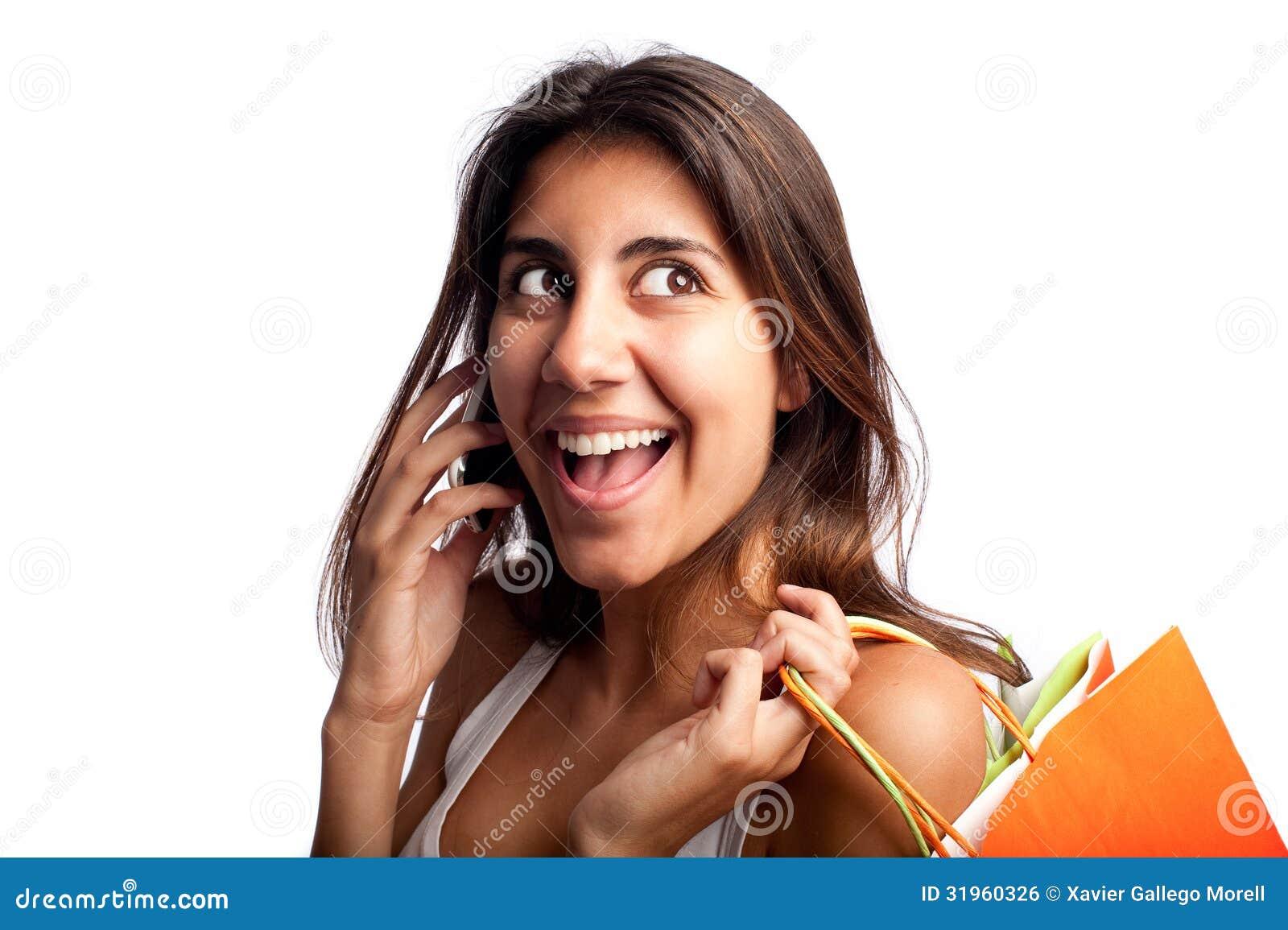 少妇说在电话里