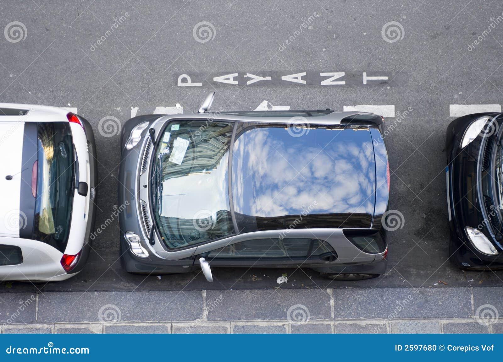 局限的停车位