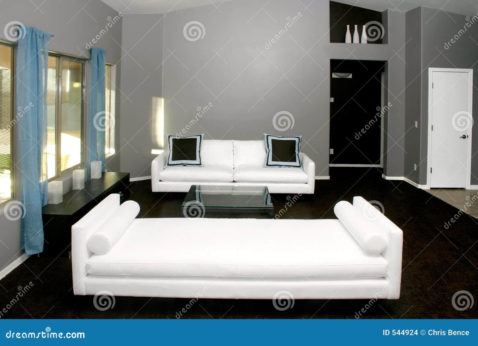 Download 居住我们的空间 库存照片. 图片 包括有 现代, 蓝色, 沙发, 世纪, 房子, 装饰, 内部, 家具, browne - 544924
