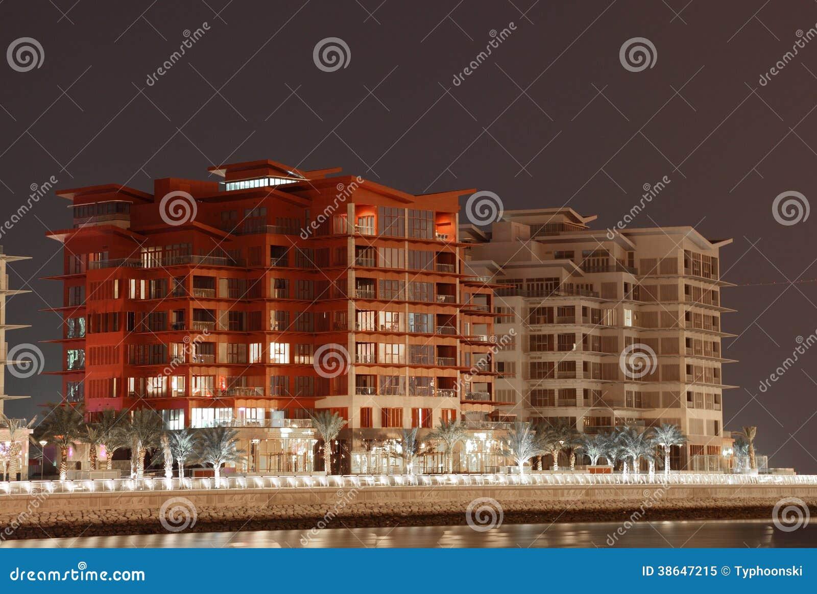 居民住房在麦纳麦,巴林