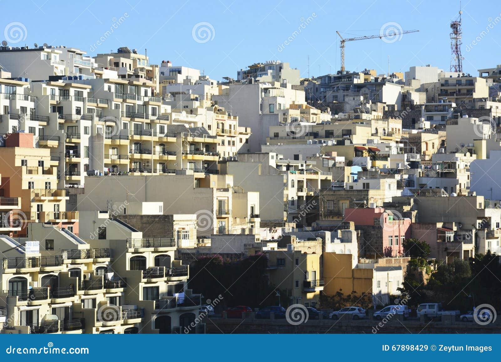 居民住房在Mellieha,马耳他