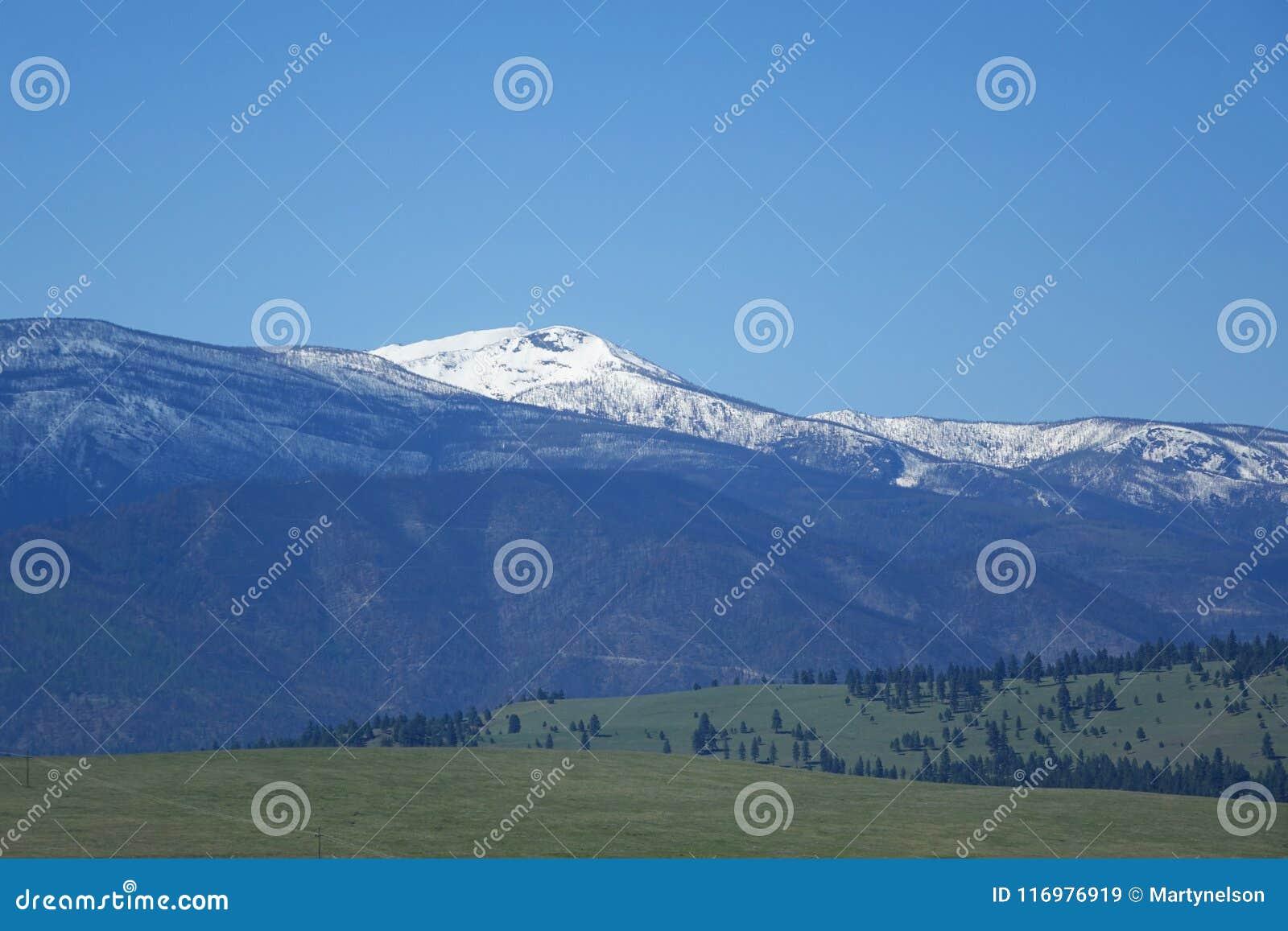 山和森林- Missoula,蒙大拿