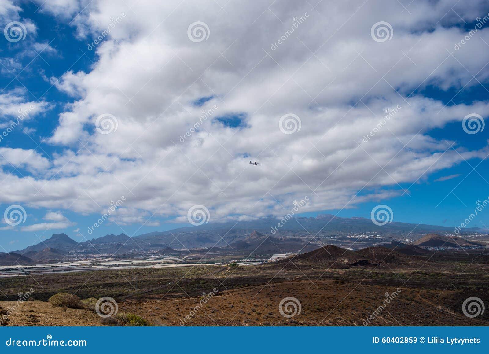 山和火山泰德峰,云彩