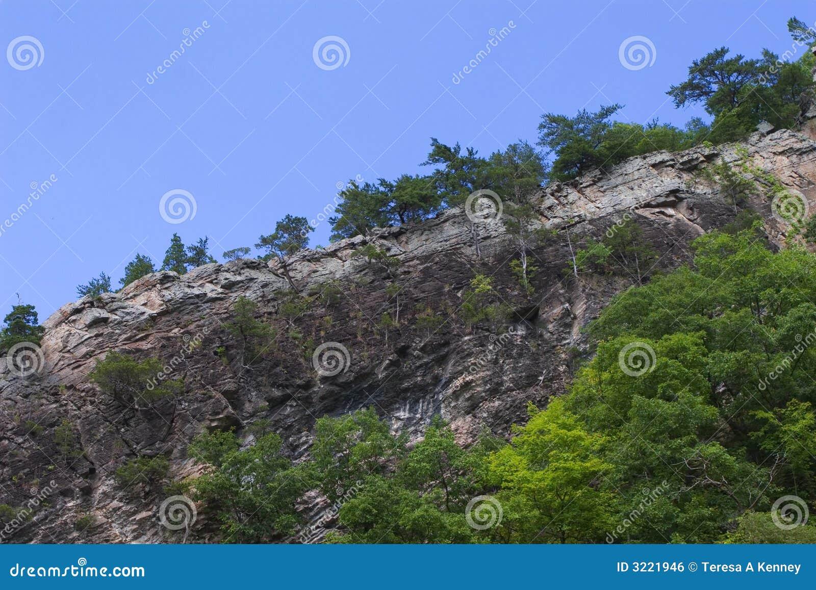 山土坎岩石