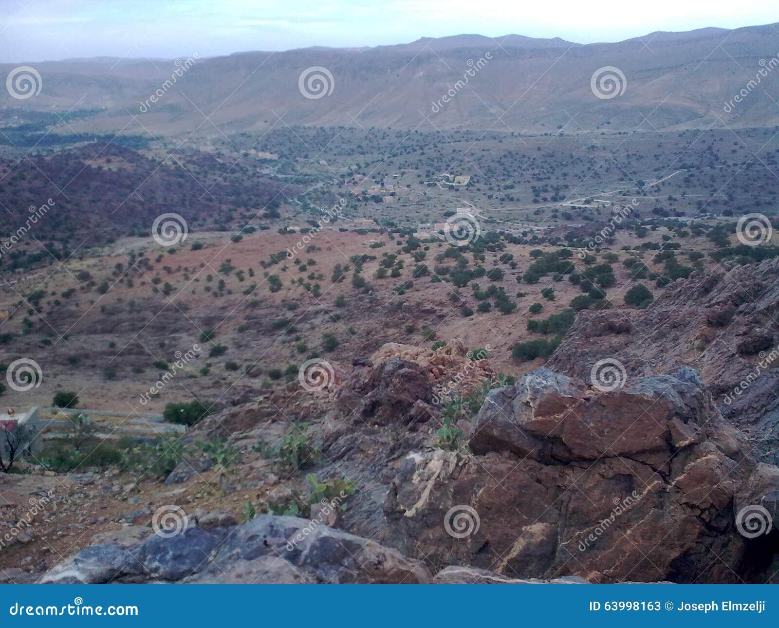 山在Tafraout