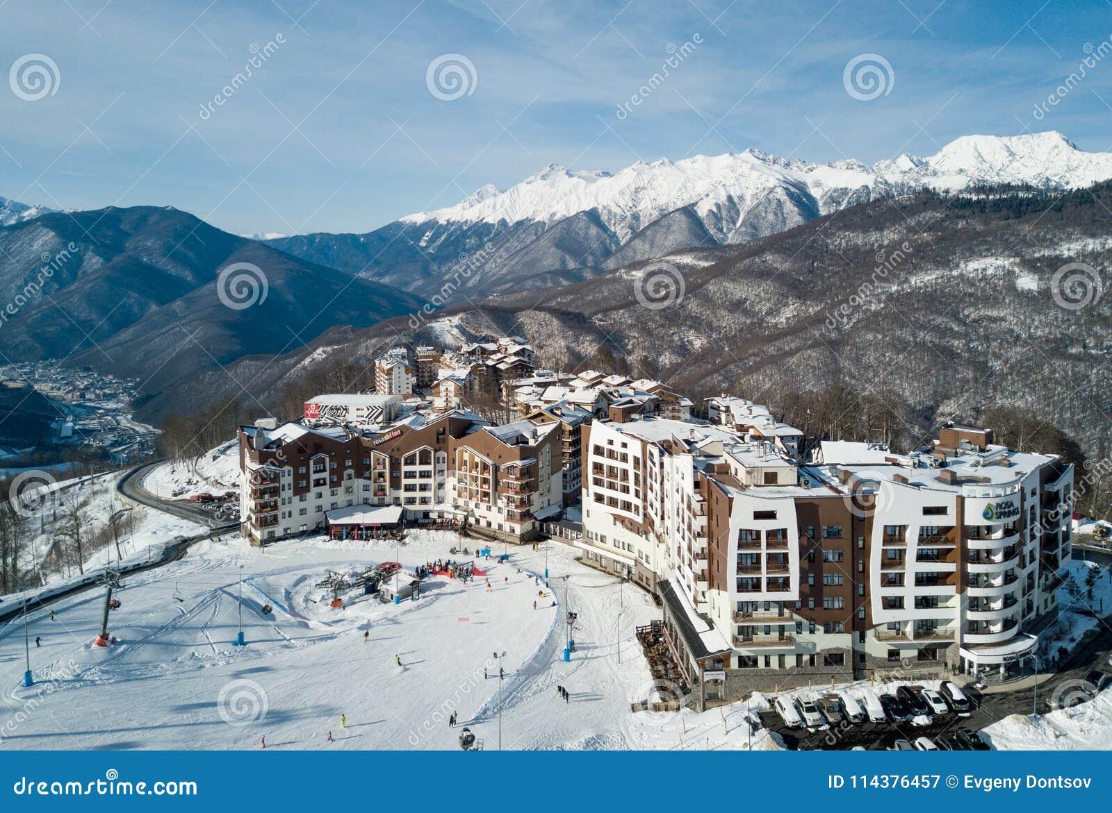 山的旅馆在索契