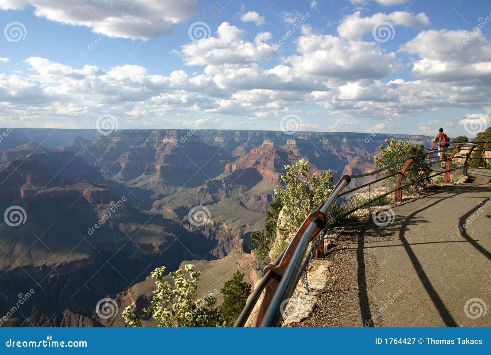 峡谷全部高涨的摄影