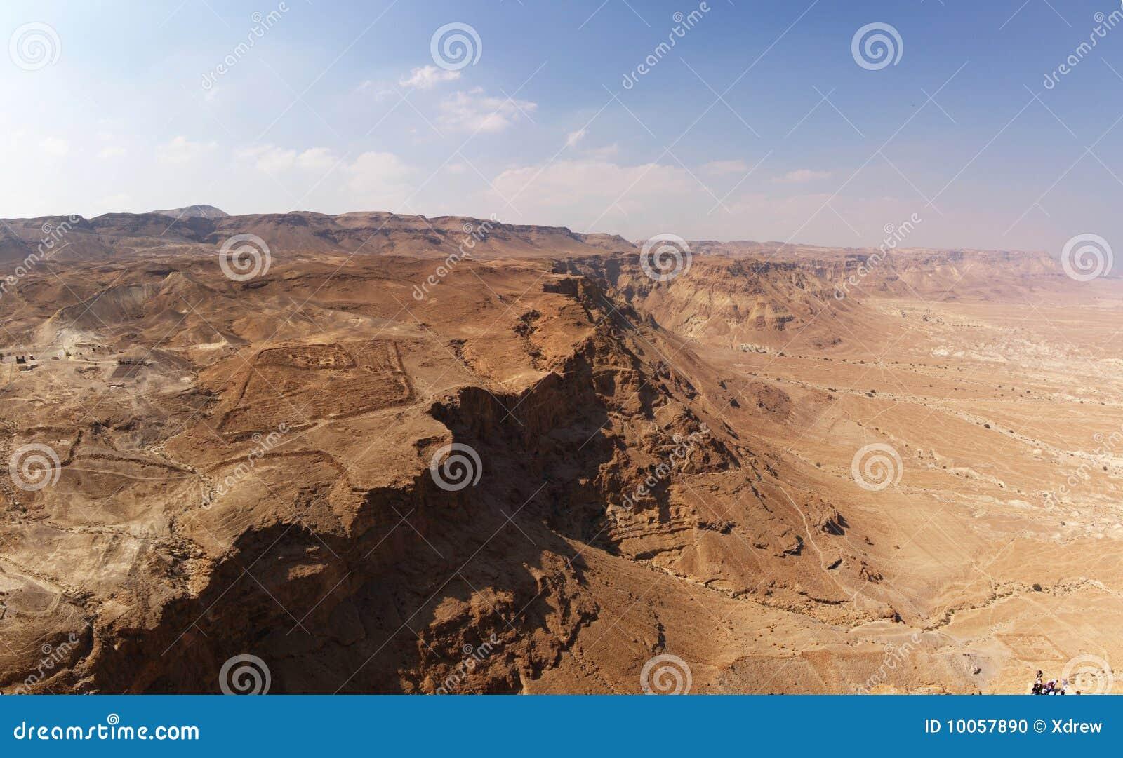 峡谷沙漠以色列judea