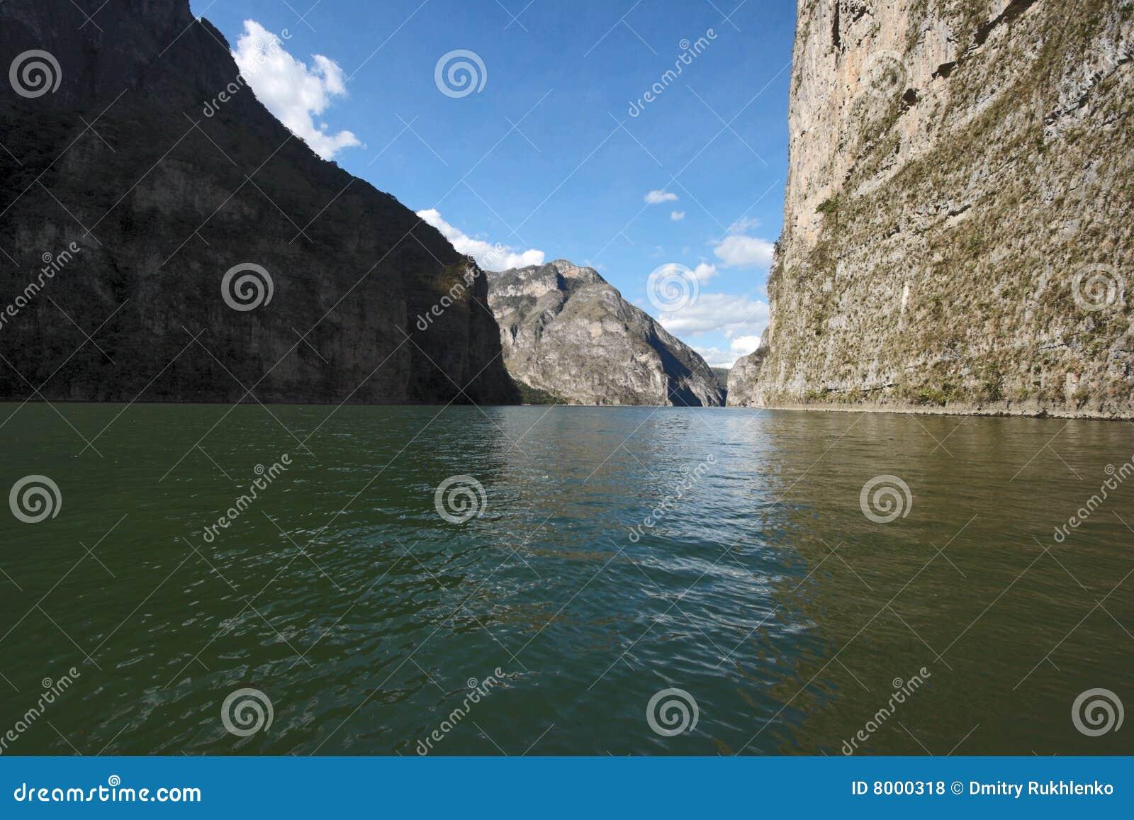 峡谷chiapas del墨西哥sumidero