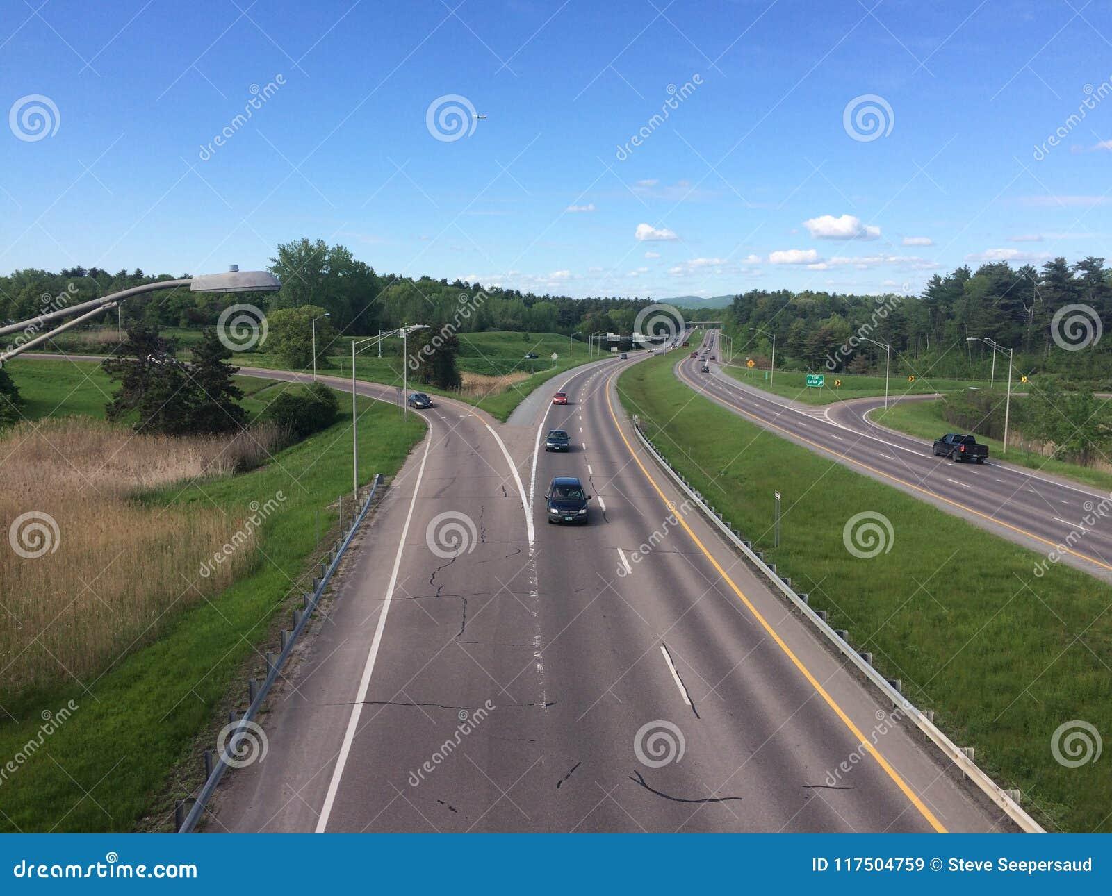 州际公路在佛蒙特
