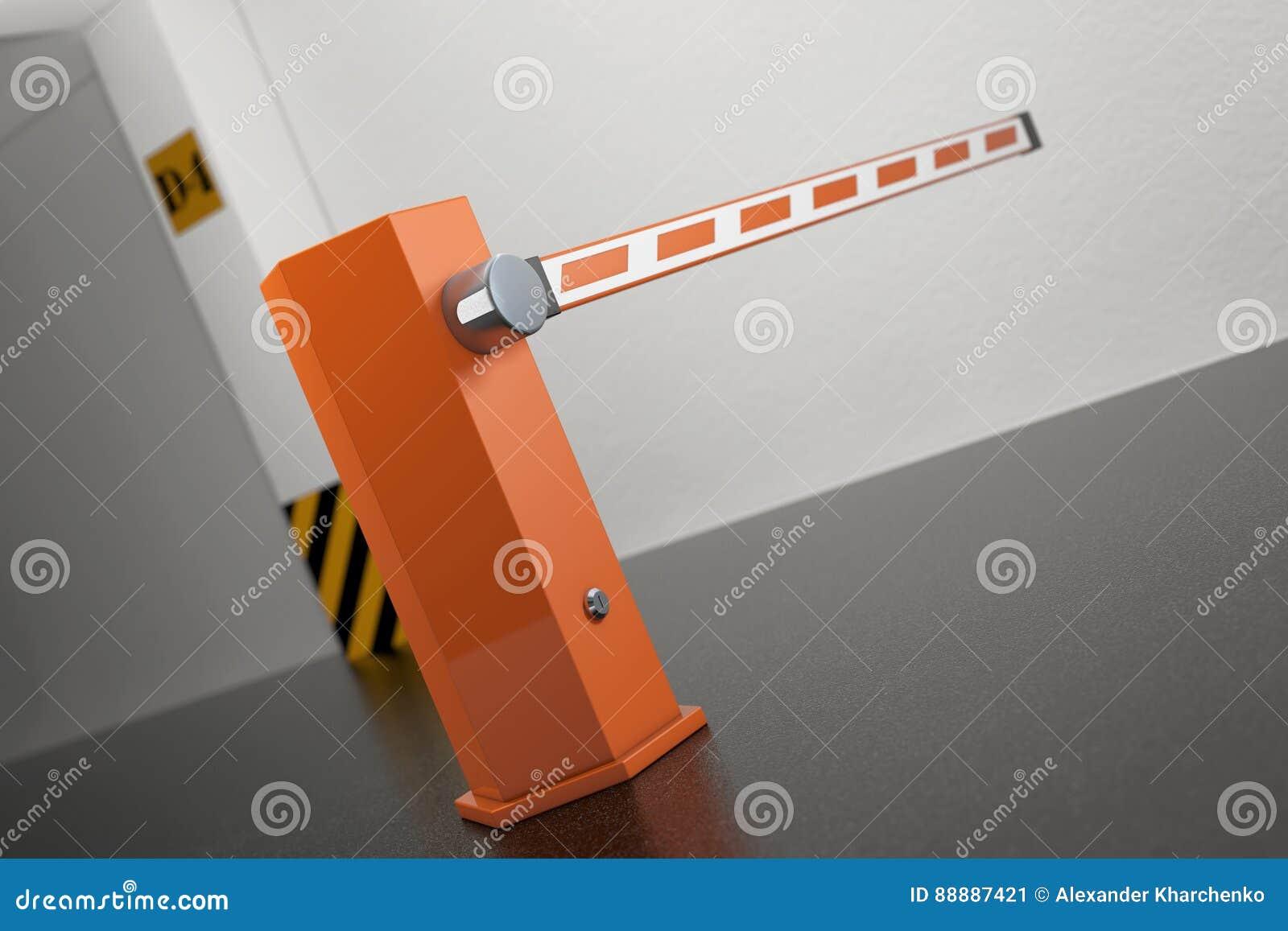 工业内部概念 在离开的障碍从Undergrou
