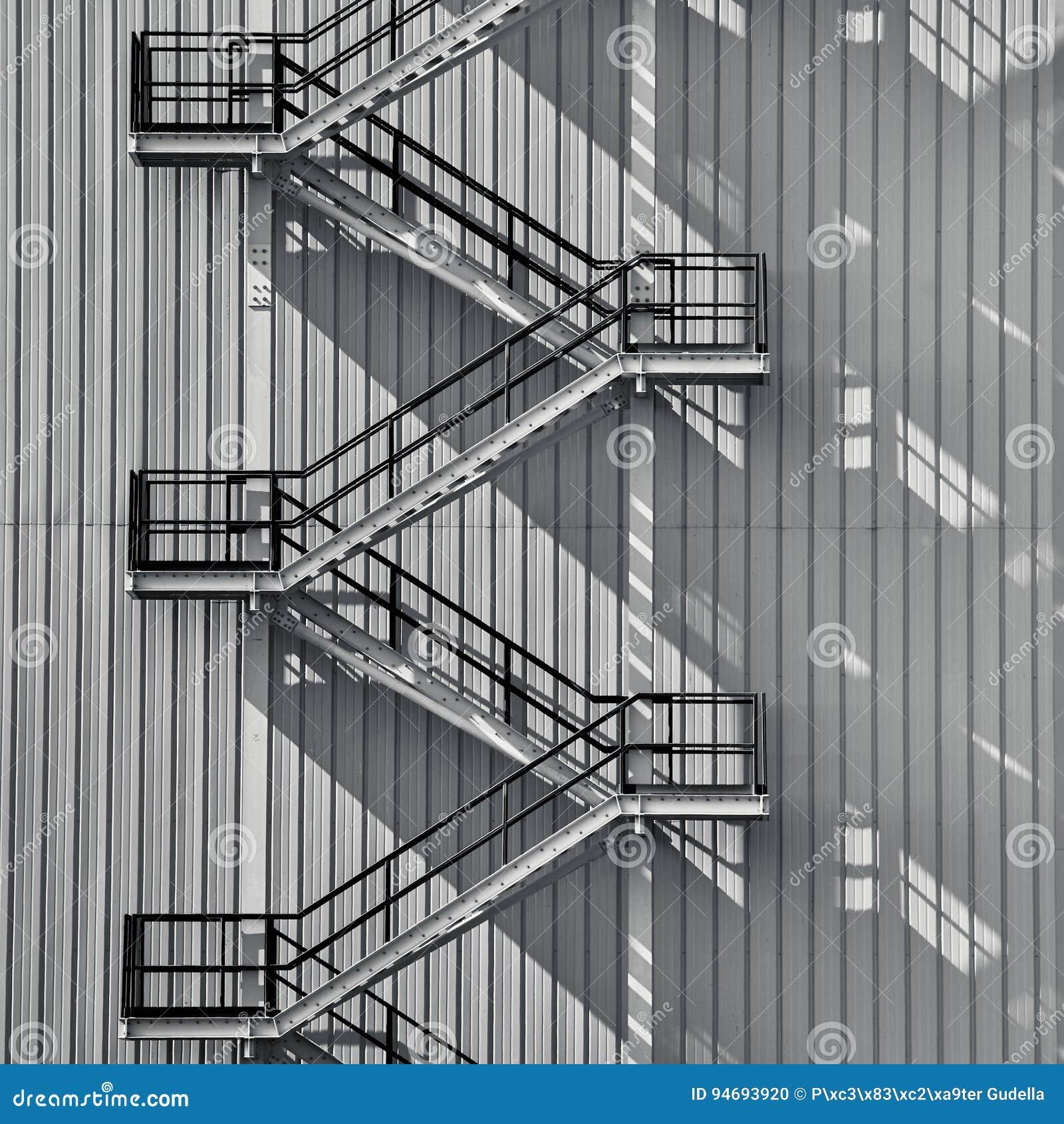 工业外部楼梯