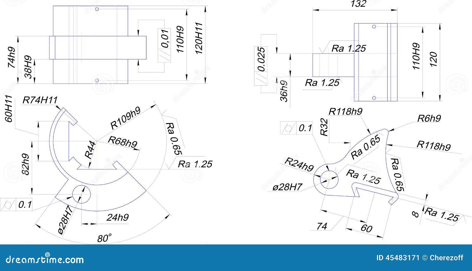 工业设备工程图