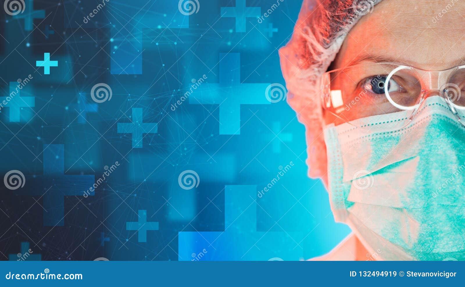 工作在诊所医院的紧急医学专家