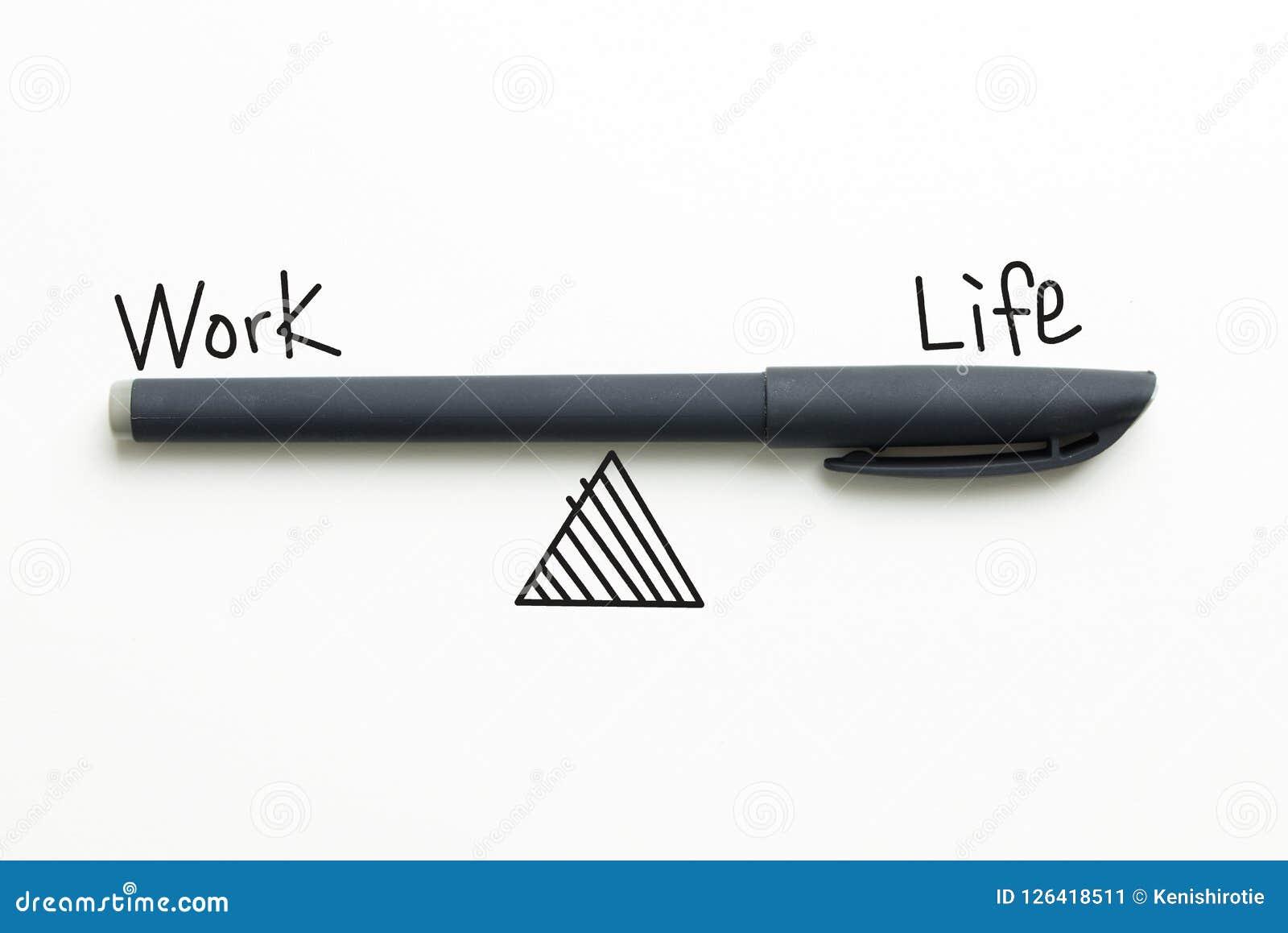 工作生活平衡文本