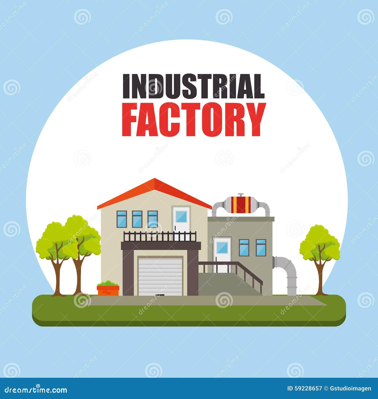工厂和产业工厂设备