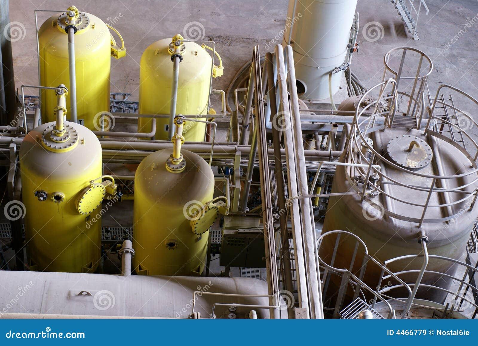工厂处理水